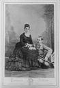 1874 Studio portrait of Lord and Lady Randolph Churchill From pinterest.com:thehistorychix:10-jennie-jerome-churchill: detint X 1.25 deflaw