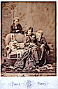 1875 Maria Pia and children