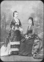 1877 Infants Mercedes standing and Maria Cristina sitting