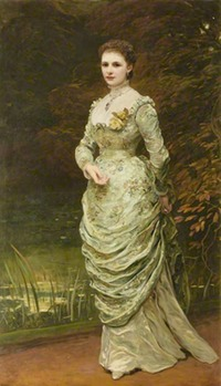 1879 Ishbel, Countess of Aberdeen by George Sant (Haddo House - Methlick, Ellon, Aberdeenshire UK)bbc.co