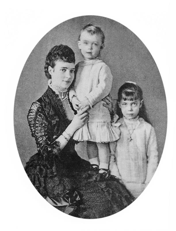 1880 * Dagmar and two children