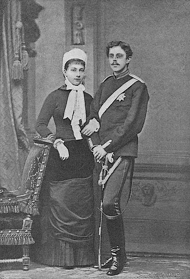1881 Crown Princess_Victoria and Crown Prince Gustav Wm