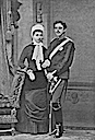 1881 Crown Princess Victoria and Crown Prince Gustav