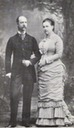 1882 King Georgios I and Queen Olga