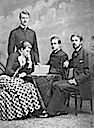 1882 Crown Princess Victoria with her brothers and Gustav