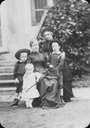 1883 Isabel of Brazil with her children and the Countess of Barral by Marc Ferrez