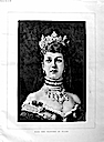 1883 Princess Alexandra print from The Graphic