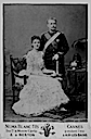 1886 Maria Pia and Crown Prince of Portugal, later King Carlos I