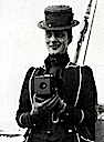 1888-1889 Queen Alexandra with Kodak camera