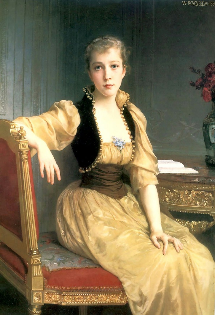 1890 Lady Maxwell by Adolphe William Bouguereau (private collection) From liveinternet.ru:users:3575290:post341570368: cropped