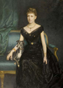 1890 Marie Gräfin zu Münster by Harry von Hente (auctioned by Koller Zurich)