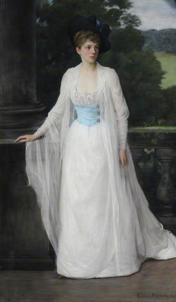 1890 Susannah West Wilson (1865–1943), Mrs John Graham Menzies, Later Lady Holford by Ellis William Roberts (Beningbrough Hall - Beningbrough, York, North Yorkshire) bbc.co X 1.5