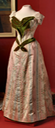 1890s Maria Feodorovna's evening dress from front From teatimeatwinterpalace.tumblr.com:post:131496806232:evening-dress-of-empress-maria-feodorovna-france