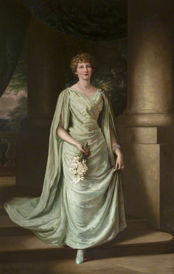 1891 Countess of Lauderdale, probably Ada Twyford Maitland, née Simpson, by Herbert Sidney (Thirlestane Castle - Lauder, Scottish Borders, UK) From Google search