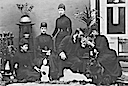 1892 Alexandra and children after death of oldest son Albert Victor, Duke of Clarence