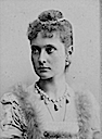 1892 Princess Alexandra photo by Carl Backofen