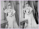 1893 (10 January) Princess Marie of Edinburgh (Missy) in her wedding dress