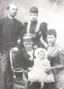 1893 Christian IX with Alix, Louise and Queen Louise holding the first greatgrandchild, Lady Alexandra Duff Posted to forum.alexanderpalace.org/index.php?topic=1599.15 by Zanthia on 23 June 2006 despot