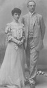 1894 (5 April ?) Duchess Maria Isabella Philippine of Wurttemberg and Prince Johan Georg Pius of Saxony