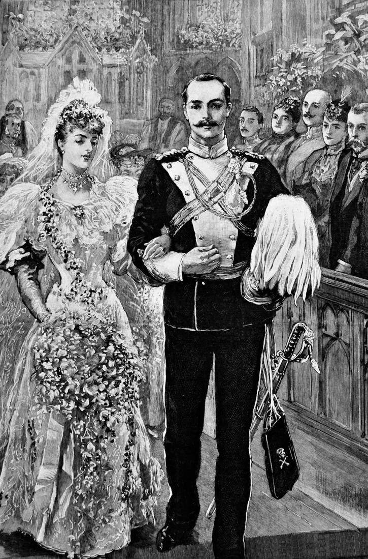 1894 Lady Margaret Grosvenor wedding from The Graphic From www.lesleysgirlsvintage.com:2012:12