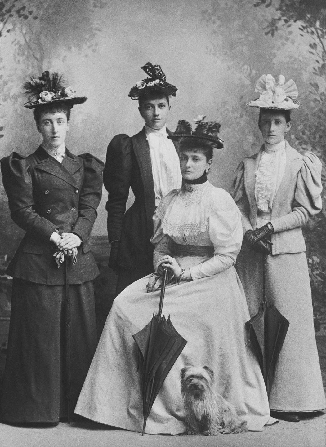 1894 (August) Left to right - Princess Helena Victoria of  Schleswig-Holstein,