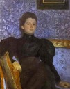 1895 Countess Varvara Pushkina by Valentin Serov (State Russian Museum, St. Petersburg Russia)