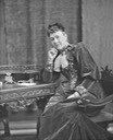 1895 Ishbel Maria Coutts Majoribanks, Countess of Aberdeen sitting