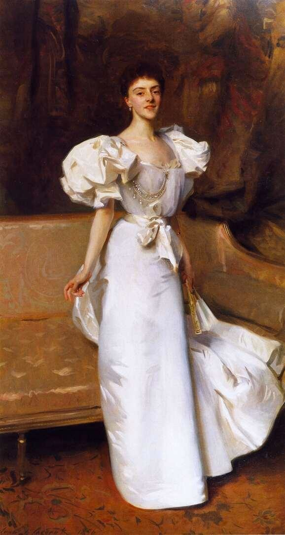 1896 Countess Clary Aldringen, née Therese Kinsky by Sargent (Hirschl & Adler Galleries - New York City, New York USA)