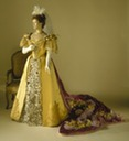 1896 court gown by Worth