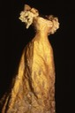 1896 Dress worn by Marie of Romania to Tsar Nicholas II's coronation From pinterest.com:bookwoman15:royal-fashion: