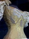 1896 Marie of Romania's gown worn to Nicholas II's coronation - close up