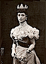 1896 Well-known photo of Alexandra