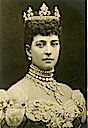 1896 Closeup from well-known photo of Alexandra