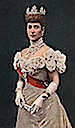 1896 Colorization of well-known photo of Alexandra