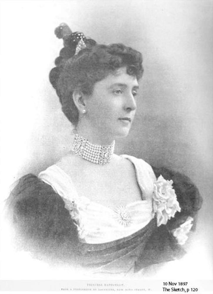 1897 Clara Huntington, Princess Hatzfeldt by Lafayette Photographic Studios From Google search X 2