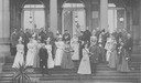 1898 (October) Württemberg Royal family and guests at the wedding of Princess Pauline of Württemberg and the Hereditary Prince of Wied, Stuttgart