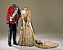 1898 Queen Alexandrine's wedding dress