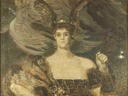 1899 Valkyrie - Princess M. K. Tenisheva by Mihail Vrubel (location unknown to gogm)