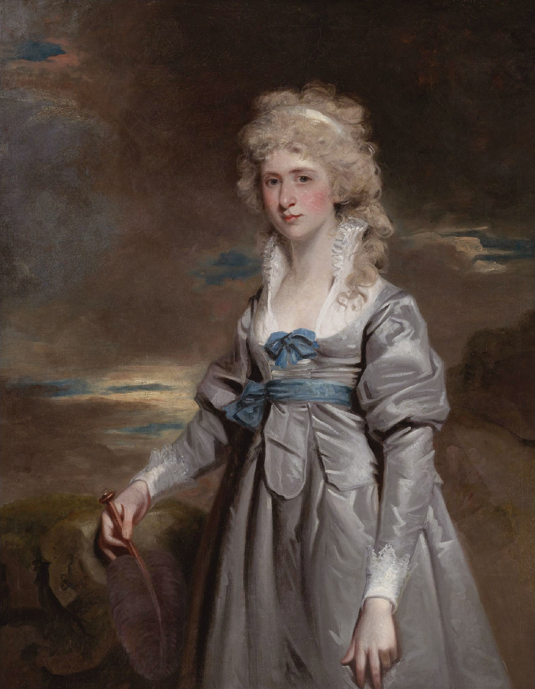 th century charlotte walsingham lady fitzgerald by john hoppner 18th century charlotte walsingham lady fitzgerald by john hoppner auctioned by sotheby s