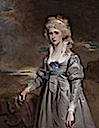 18th century Charlotte Walsingham, Lady Fitzgerald by John Hoppner (auctioned by Sotheby's)