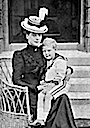 Alexandra and future Edward VIII