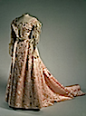 1900s Alexandra's pink evening dress