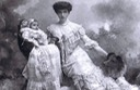 1901 Cristina Casati Stampa di Soncino, later Countess of Huntingdon, and Luisa Casati Stampa di Soncino, Marchioness of Casati From pinterest.com:pin:445504588130151980:?lp=true X 1.5