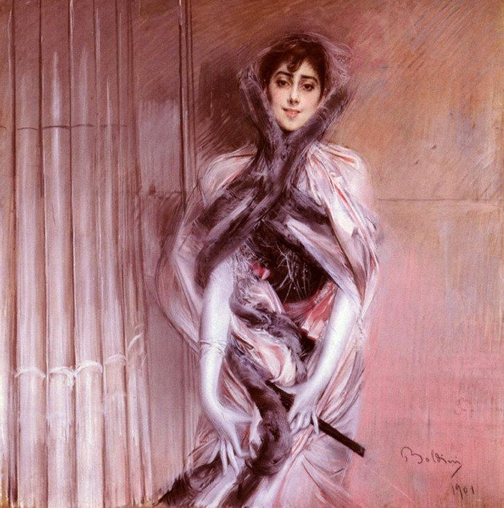 1901 Emiliana Concha de Ossa by Giovanni Boldini (private collection)