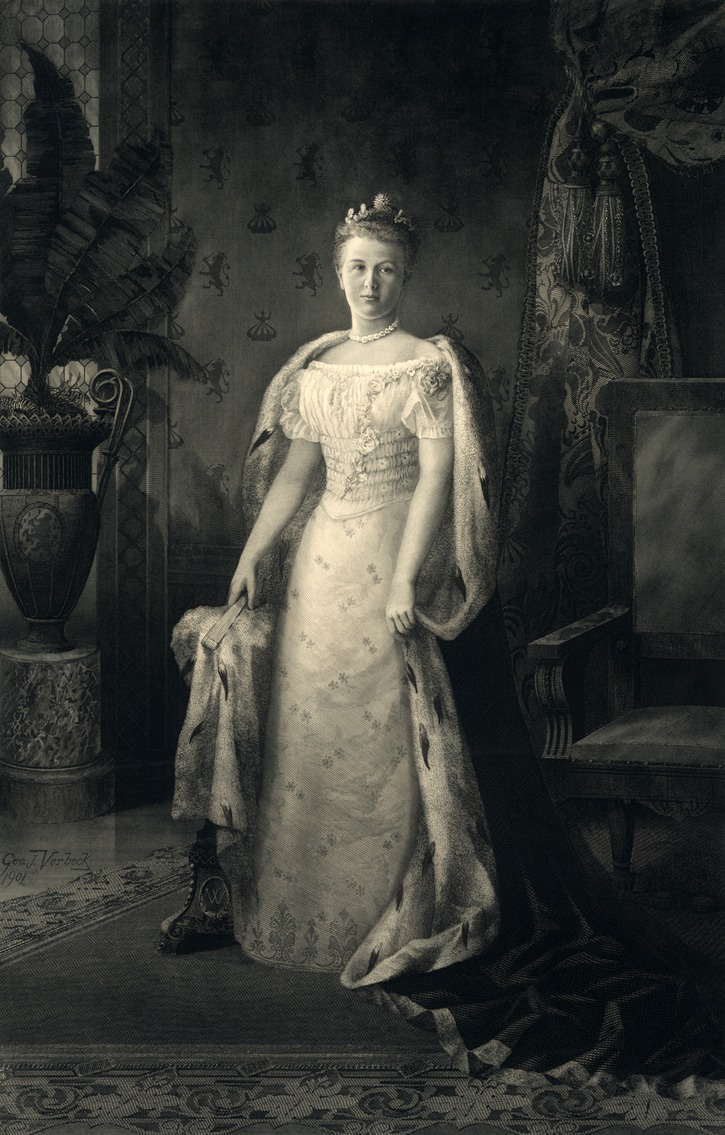 1901 Queen Wilhelmina by George J. Verbeck