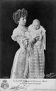 1902 (estimate based on age of baby) Princesse Albert & Leopold post card