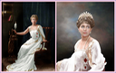 1902 Marie of Romania by Henry Walter ('H. Walter') Barnett colorization by klimbim From Olga's photostream on flickr