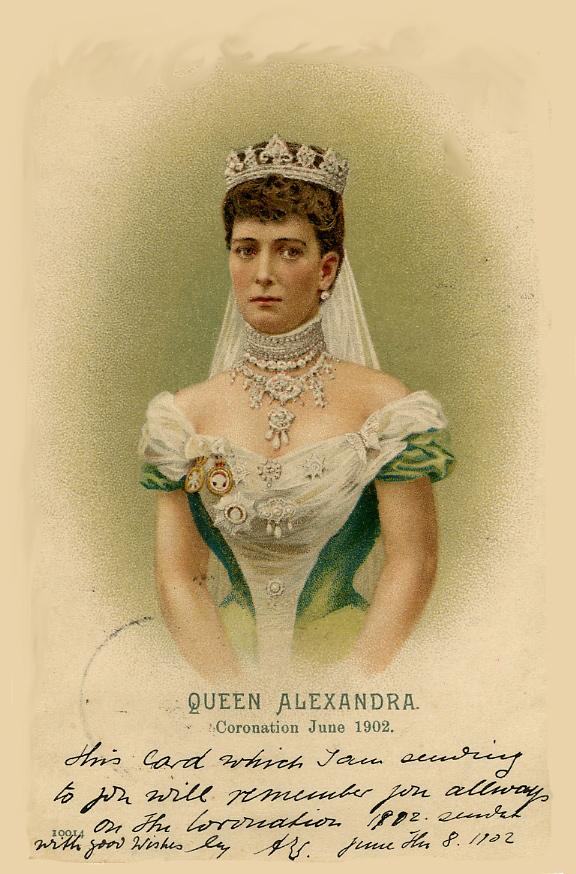 1902 Алекс коронации