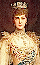 1902 Grand portrait of Queen Alexandra