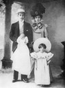 1903 (before) Ignazio Florio Jr., Franca Florio and their first children Wm detint